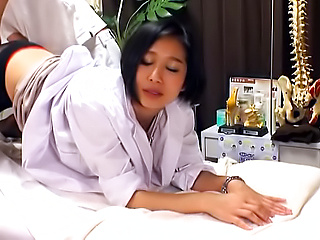 Mature Asian milf enjoys a wild hot spin