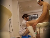 Naughty nurse bonking well with a patient picture 5