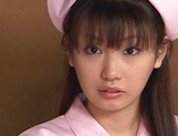 Hot nurse is a Japanese AV model who loves to fuck in hardcore scenes picture 3