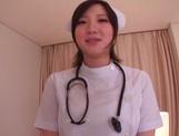 Busty Japanese AV Model is a nurse who loves to fuck in hardcore