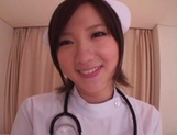 Busty Japanese AV Model is a nurse who loves to fuck in hardcore picture 6