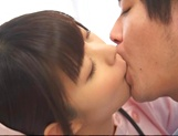 Attractive nurse Nana Ayano fucks horny patient picture 14