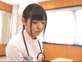 Attractive nurse Nana Ayano fucks horny patient picture 8