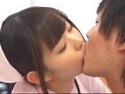 Attractive nurse Nana Ayano fucks horny patient