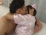 Japanese AV Models sharing the same dick in hardcore scenes