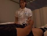 Amateur Japanese nurse fuck her sick patient picture 11