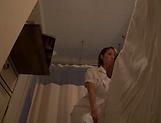 Amateur Japanese nurse fuck her sick patient picture 15