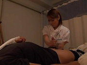 Amateur Japanese nurse fuck her sick patient