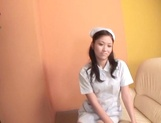 Beautiful Asian nurse throats a big dick in POV picture 11