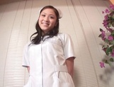 Beautiful Asian nurse throats a big dick in POV picture 4