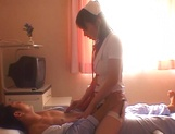 Naughty nurse loves to have sex with patients picture 13