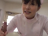 Alluring Asian nurses give delightful handjob