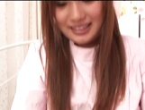 Japanese AV Model, a nurse in sexy stockings endures harsh sex picture 12