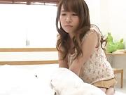Cute Momoi Haruka wants a wild deep fuck