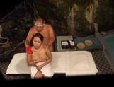 Asian babe Kazane Maika gets drilled