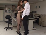 Kazama Yumi gets her twat fucked and creamed picture 11