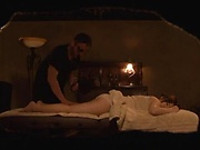 Massage turns nasty for a big ass Japanese milf