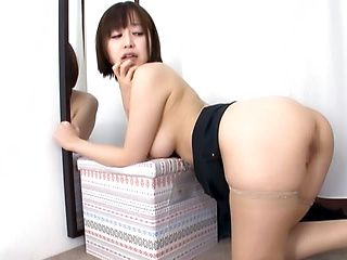 Hot Japanese amateur sex with a busty beauty