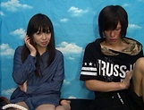 Japanese teen delights with cock in full mode picture 14