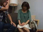 Pretty Japanese AV model meets lover for hot sex