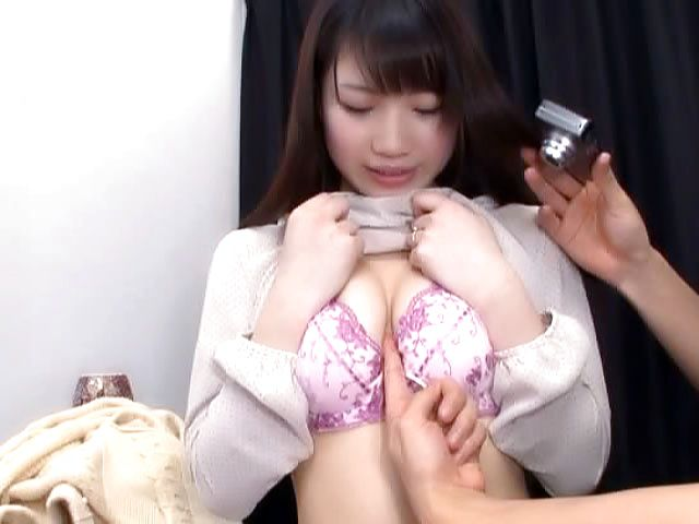 Hot Japanese AV model hard fucked after getting proposed
