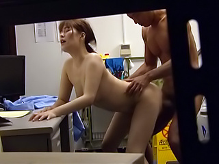 Blowjob queen gets nailed doggy style