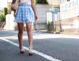 Naughty teen Hitomi Maisaka enjoys head fuck and pussy banging