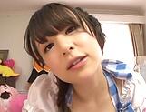 Exquisite Kamiki Sayaka enjoying hardcore session