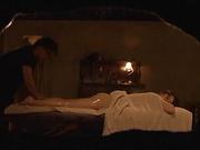 Hot milf enjoys hardcore sex with the masseur