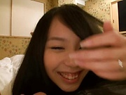 Cute teen Shibuya Miki gets penetrated deep