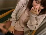 Amateur Japanese AV Model sucks dick and gets her cunt creamed