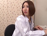Sexy Japanese nurse gets screwed so good
