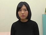 Busty Japanese milf Hosaka Eri enjoys sex with a younger man