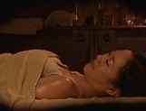 Hot Japanese babe gets more than just a massage picture 11