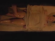 Massage goes wild for Japanese married milf