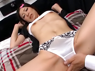 Creampie end for bimbo's filthy porn adventure