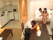 Threesome fuck with Uehara Ai and Hatano Yui