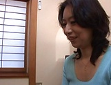 Horny mature Japanese AV Model gets banged in the office
