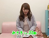 Busty milf Hosaka Eri seduced in having harsh sex on cam picture 2