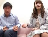 Busty milf Hosaka Eri seduced in having harsh sex on cam