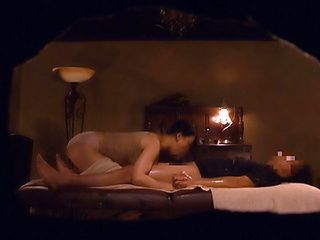 Luscious milf enjoys a wild massage session