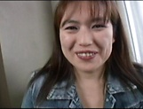 Hot amateur Japanese AV Model gives a hot blowjob and gets creamed
