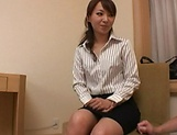 Office beauty plays along and enjoys sex at work picture 12