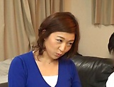 Japanese wife enjoys riding a stiff rod picture 12