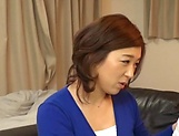 Japanese wife enjoys riding a stiff rod picture 15