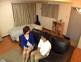 Japanese wife enjoys riding a stiff rod picture 3