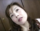 Hot Japanese AV Model is a MILF getting fucked hard and creamed picture 6