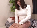 Amateur Japanese AV model receives cock to play with in hardcore picture 14