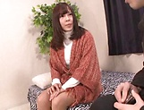 Amateur Japanese AV model receives cock to play with in hardcore