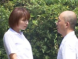 Hotaka Yuka and friend in wild outdoor fucking picture 11